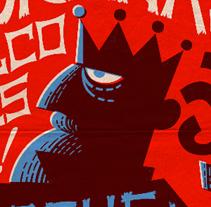 Cartel Membranas. Un proyecto de Diseño, Ilustración, Publicidad, Música, Audio, Dirección de arte, Eventos y Diseño gráfico de Pablo Lacruz         - 04.02.2015