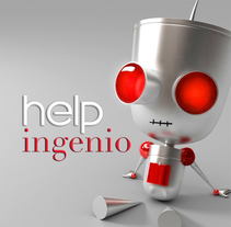 Helpingenio. A Design, Advertising, Br, ing, Identit, and Character Design project by Paloma Martínez Vicent - 08-02-2015