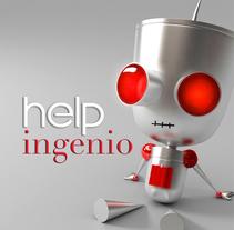 Helpingenio. Un proyecto de Diseño, Publicidad, Br, ing e Identidad y Diseño de personajes de Paloma Martínez Vicent         - 08.02.2015
