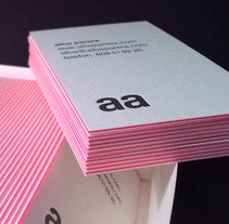 Tarjetas de visita. A Br, ing, Identit, and Graphic Design project by Alba Parera  - 02.10.2015
