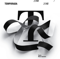 Carteles CDN  2014-15. A Design, T, and pograph project by Isidro Ferrer         - 14.02.2015