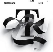 Carteles CDN  2014-15. Un proyecto de Diseño y Tipografía de Isidro Ferrer - Domingo, 15 de febrero de 2015 00:00:00 +0100