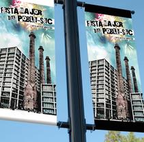 Festes Poble Sec 2011. Um projeto de Design gráfico de Domingo Melero Pérez         - 14.02.2015