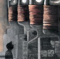 Una mena de por. Um projeto de Ilustração, Artes plásticas e História em quadrinhos de Alba Romero Pi         - 11.07.2013