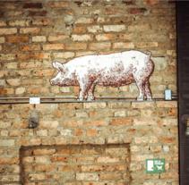 La Fama Barbecue. Un proyecto de Br, ing e Identidad y Diseño gráfico de Indice  - Jueves, 01 de noviembre de 2012 00:00:00 +0100