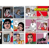 "Meninfotisme. Mi proyecto del curso ""El cómic es otra historia"". Un proyecto de Comic e Ilustración de Ralf Wandschneider - Miércoles, 18 de febrero de 2015 00:00:00 +0100"