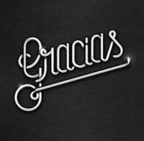 Thank You / Gracias. A Design, Illustration, Art Direction, Graphic Design, T, pograph, Writing, and Calligraph project by Bnomio ™ - Dec 12 2014 12:00 AM
