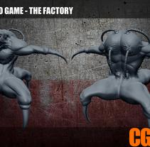 Video Game THE FACTORY. Um projeto de 3D de Marc Lidon         - 22.02.2015