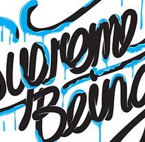 Supremebeing. A Graphic Design, T, pograph, and Calligraph project by Alán  Guzmán         - 13.07.2011
