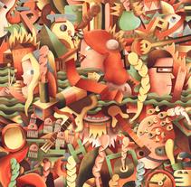 Portada Pantones. Un proyecto de Diseño e Ilustración de Juan Díaz-Faes - 24-02-2015