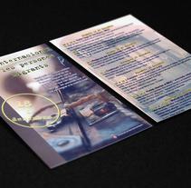 International migrant's day . Um projeto de Design editorial, Design gráfico e Arquitetura da informação de Diana Drago         - 24.02.2015