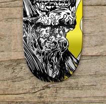 Skateboard Collection. Um projeto de Ilustração, Direção de arte e Design gráfico de Ainhoa         - 06.04.2012