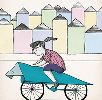 Bikefriendly. A Illustration project by vanessa  santos - 25-02-2015