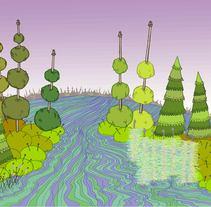 Planeta Ovillo. A Illustration, and Game Design project by Beatriz de Luz Nadal         - 27.02.2015