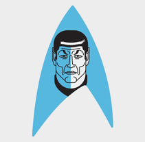 Homenaje a Leonard Nimoy. A Illustration, and Graphic Design project by Javier Gutiérrez - 05-03-2015