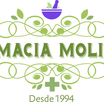 Restyling Farmacia Molinón. A Br, ing&Identit project by M Doyle         - 07.03.2015
