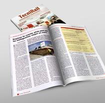 Maquetación de revistas. Um projeto de Design, Direção de arte, Design editorial e Design gráfico de Mar Gómez         - 15.03.2015