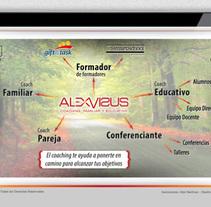 Álex Visús Coaching. Un proyecto de Br, ing e Identidad, Diseño Web y Desarrollo Web de José Ramón Viza         - 09.03.2015