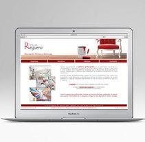 Diseño Web. Pintura y reformas Jesus Reguero. Um projeto de Design gráfico e Web design de Mar Gómez - 15-03-2015