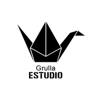 Logo Grulla. A Br, ing, Identit, and Graphic Design project by Diana Colomer         - 11.03.2015