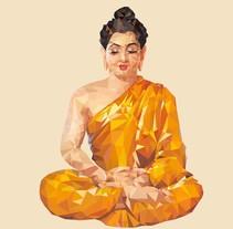 Dioses hindúes . Um projeto de Ilustração e Design gráfico de Las 12 en punto          - 11.03.2015