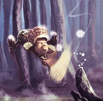 The fairy catcher. A Illustration project by Cristian Kocak - 12-03-2015