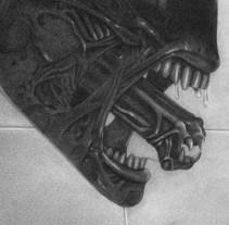 Alien: encargo personalizado. Um projeto de Ilustração de Alicia Acuña         - 14.03.2012