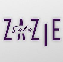BRANDING SALA ZAZIE. A Design, Br, ing, Identit, Graphic Design&Interior Design project by Dani Jané Sors         - 25.09.2014