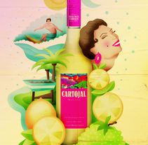 Veranito malagueño con Cartojal. A Graphic Design, Illustration, and Advertising project by Lisa Fernández Karlsson - Mar 22 2015 12:00 AM