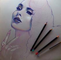 Micheline Pitt. Un proyecto de Ilustración y Bellas Artes de Marta Adán         - 23.03.2015