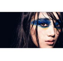 Asian Blue. A Photograph, and Fashion project by Luis Beltrán         - 23.03.2015
