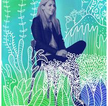 """Arte gráfico para el programa de Telefónica """"Think Big"""". Un proyecto de Ilustración de Carolina Segal         - 24.03.2015"""