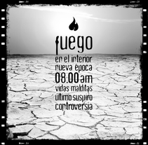 """ELENCO """"Fuego"""". Un proyecto de Diseño gráfico y Diseño de producto de Irene Ibáñez Gumiel - 26-03-2015"""