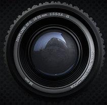 Cabecera programa de fotografía. Um projeto de Motion Graphics e 3D de Elena Pérez Revillas - 04-04-2015