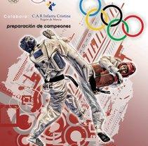 Cartel Federación Española TKD. Un proyecto de Diseño gráfico de Salvador Nicolás         - 05.04.2015
