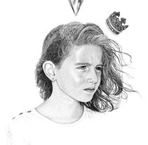 Queen of Diamonds. A Fine Art&Illustration project by Pablo Jurado Ruiz - 04.06.2015