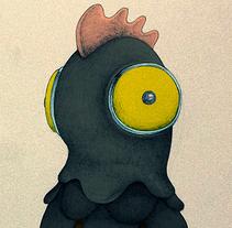 Personajes absurdos.. Un proyecto de Ilustración de Óscar Lloréns - Martes, 14 de abril de 2015 00:00:00 +0200