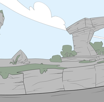 "Layouts de ""Angry Birds Toons"", Rovio Entertaiment Ltd.. A Animation project by Marc'Ban Grylls         - 14.04.2015"