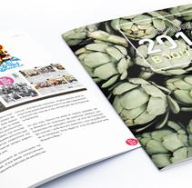 Memòria 2013 La Boqueria. A Design, Photograph, Editorial Design, Graphic Design, T, and pograph project by Mediactiu agencia de branding y comunicación de Barcelona  - Apr 17 2015 12:00 AM