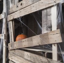 El pueblo maldito (Halloween). A Installations project by Cuadrado Creativo          - 18.04.2015