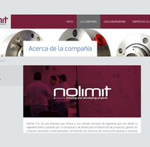 Nolimit CA. Um projeto de Web design e Desenvolvimento Web de Pablo Núñez Argudo         - 09.12.2014