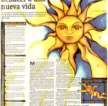 Maquetación DIARIO PANORAMA 2000. Um projeto de Design editorial e Design gráfico de Aniela Bermudez Moros         - 06.05.2015