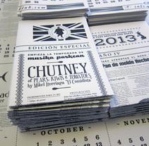 Glutton Calendar 2013. Un proyecto de Diseño y Diseño gráfico de Iñaki Rodríguez - 31-12-2012