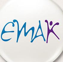 Emak, asociación que promueve la igualdad de la mujer en el deporte. Un proyecto de Diseño gráfico de nathalie figueroa savidan         - 06.05.2015