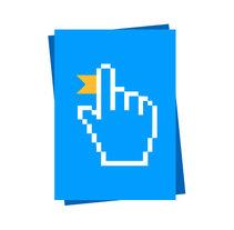Logotipo web, Formación Online. A Graphic Design project by Mariajosé Cuenca         - 09.05.2015