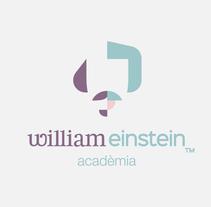 William Einstein. Un proyecto de Diseño, Ilustración, Br, ing e Identidad, Diseño gráfico, Diseño Web y Desarrollo Web de Joan Rojeski         - 05.05.2014