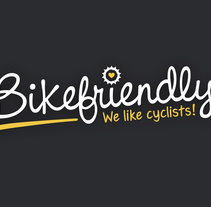 Bikefriendly, marca. A Graphic Design, and Web Design project by Saúl M. Irigaray         - 17.05.2015