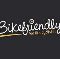 Bikefriendly, marca. Um projeto de Design gráfico e Web design de Saúl M. Irigaray         - 17.05.2015