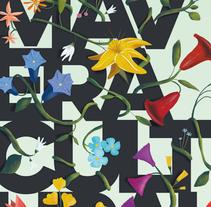 Primavera Cultural. Um projeto de Ilustração e Design gráfico de Saúl M. Irigaray         - 17.05.2015