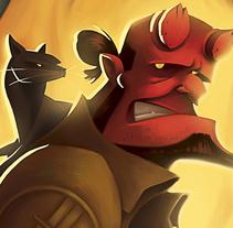 Hell's BBQ. Un proyecto de Ilustración de Elisabeth Castro Martínez - 19-05-2015